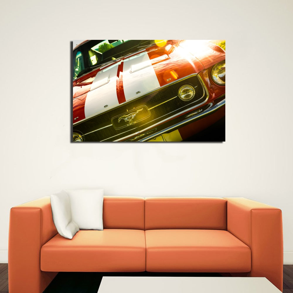 1967 Ford Mustang Wall Art
