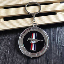 Load image into Gallery viewer, Ford Mustang Faux Gas Cap Keychain