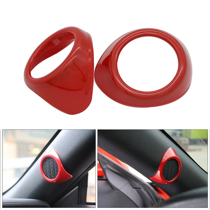 Red A-Pillar Speaker Trim