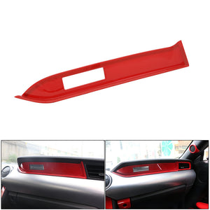Red Interior Dashboard Strip