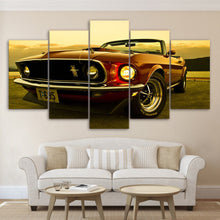 Load image into Gallery viewer, 1969 Ford Mustang Convertible Wall Art