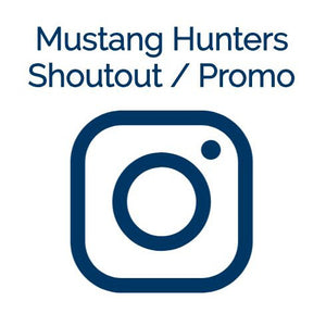 Instagram Shoutout / Promotional Post