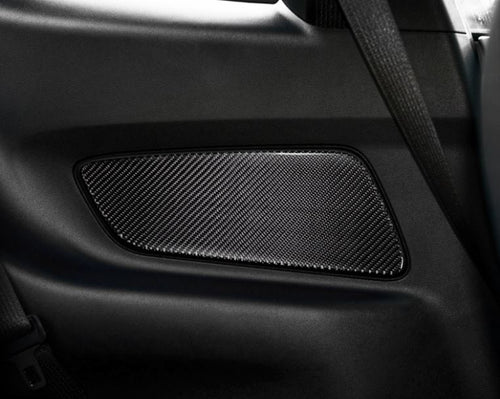 Carbon Fiber Rear Side Panel Trim