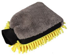 Load image into Gallery viewer, Microfiber And Chenille Wash Mitt