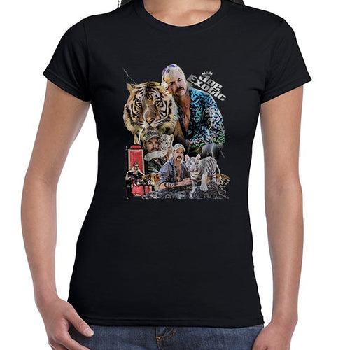 Joe Exotic The Tiger King Fan Art Tshirt Shirt Lady Fit Ladies 6443