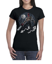 Load image into Gallery viewer, Texas DPool Chainsaw Mashup Tshirt Shirt Lady Fit Ladies 3301