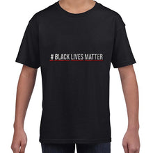 Load image into Gallery viewer, Hashtag Black Lives Matter Movement Tshirt Shirt Kids Youth Children 6456