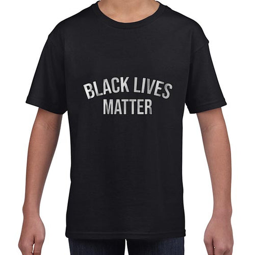 Black Lives Matter Statement Awareness Tshirt Shirt Kids Youth Children 6458
