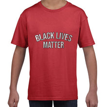 Load image into Gallery viewer, Black Lives Matter Statement Awareness Tshirt Shirt Kids Youth Children 6458