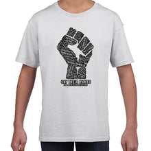 Load image into Gallery viewer, Say Their Names -  Black Lives Matter Awareness Tshirt Shirt Kids Youth Children 6455