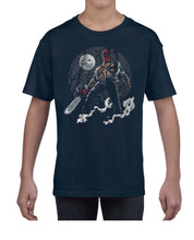 Load image into Gallery viewer, Texas DPool Chainsaw Mashup Tshirt Shirt Kids Youth Children 3301