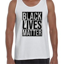 Load image into Gallery viewer, Black Lives Matter Typography Awareness Vest Tank Top Muscle Shirt Mens 6459