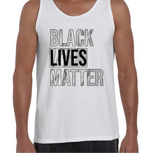 Load image into Gallery viewer, Black Lives Matter Movement Statement Vest Tank Top Muscle Shirt Mens 6457