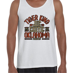 Joe Exotic The Tiger King Oklahoma Vest Tank Top Muscle Shirt Mens 6446