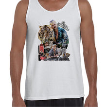 Load image into Gallery viewer, Joe Exotic The Tiger King Fan Art Vest Tank Top Muscle Shirt Mens 6443
