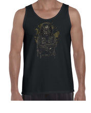 Load image into Gallery viewer, Predator Movie Inspired Cool Graphic Biker Vest Tank Top Muscle Shirt Mens 3312