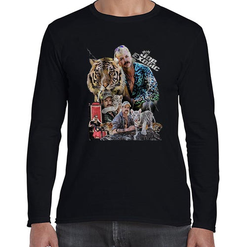 Joe Exotic The Tiger King Fan Art Long Sleeve Tshirt Shirt Mens Unisex 6443