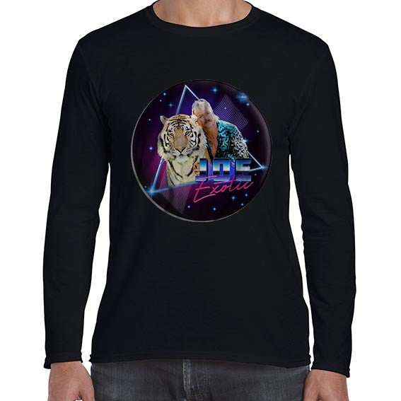 Joe Exotic Tiger King Carole Baskin Long Sleeve Tshirt Shirt Mens Unisex 6434