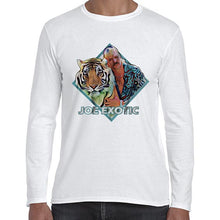 Load image into Gallery viewer, Joe Exotic Tiger King Vector Carole Baskin Long Sleeve Tshirt Shirt Mens Unisex 6435
