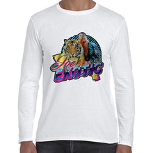 Load image into Gallery viewer, The Tiger King Joe Exotic Carole Baskin Long Sleeve Tshirt Shirt Mens Unisex 6433
