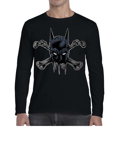 Deadly Bat Movie Inspired Graphic Long Sleeve Tshirt Shirt Mens Unisex 3291