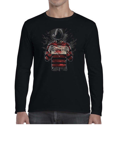 Freddy's Final Nightmare Movie Inspired Fan Art Graphic Long Sleeve Tshirt Shirt Mens Unisex 3303