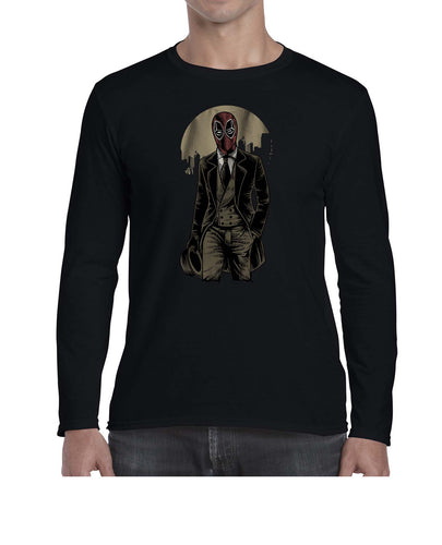 FancyPool Movie Inspired Vintage Style Graphic Long Sleeve Tshirt Shirt Mens Unisex 3294
