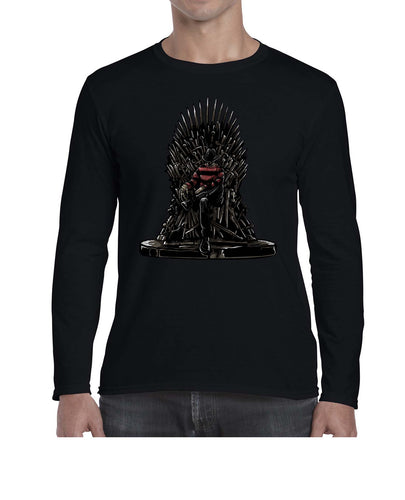 Freddy's Throne TV Movie Inspired Halloween Long Sleeve Tshirt Shirt Mens Unisex 3310