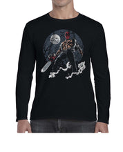 Load image into Gallery viewer, Texas DPool Chainsaw Mashup Long Sleeve Tshirt Shirt Mens Unisex 3301