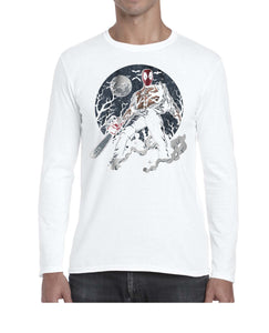 Texas DPool Chainsaw Mashup Long Sleeve Tshirt Shirt Mens Unisex 3301