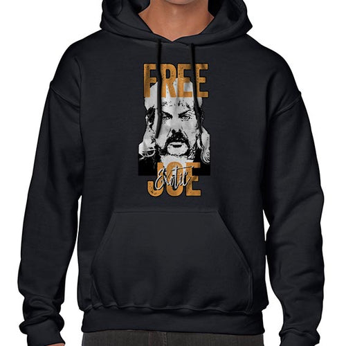 FREE Joe Exotic The Tiger King Graphic Hoodies Hoodie Hoody Mens Ladies Kids Unisex 6444