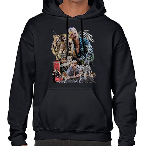 Joe Exotic The Tiger King Fan Art Hoodies Hoodie Hoody Mens Ladies Kids Unisex 6443