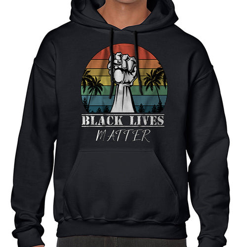 Vintage Black Lives Matter Awareness Hoodies Hoodie Hoody Mens Ladies Kids Unisex 6462