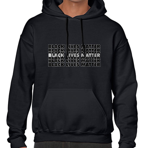 Black Lives Matter Graphic Statement Hoodies Hoodie Hoody Mens Ladies Kids Unisex 6464