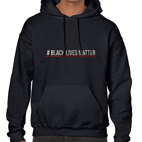 Hashtag Black Lives Matter Movement Hoodies Hoodie Hoody Mens Ladies Kids Unisex 6456