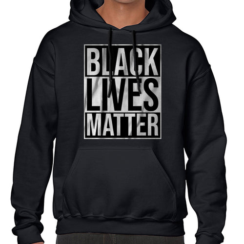 Black Lives Matter Typography Awareness Hoodies Hoodie Hoody Mens Ladies Kids Unisex 6459