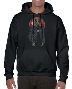 Franken Rockstar Music Inspired Halloween Hoodies Hoodie Hoody Mens Ladies Kids Unisex 3302