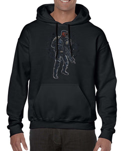 Comic Book Inspired Judge Dredd Graphic Hoodies Hoodie Hoody Mens Ladies Kids Unisex 3305