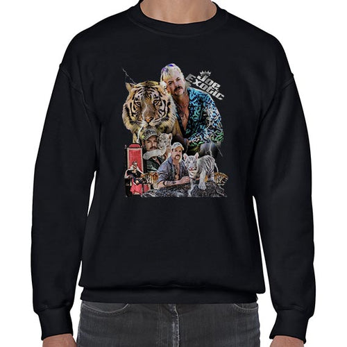 Joe Exotic The Tiger King Fan Art Sweater Jumper Sweatshirt Mens Ladies Kids Unisex 6443
