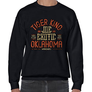 Joe Exotic The Tiger King Oklahoma Sweater Jumper Sweatshirt Mens Ladies Kids Unisex 6446
