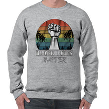 Load image into Gallery viewer, Vintage Black Lives Matter Awareness Sweater Jumper Sweatshirt Mens Ladies Kids Unisex 6462