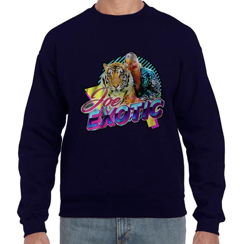 The Tiger King Joe Exotic Carole Baskin Sweater Jumper Sweatshirt Mens Ladies Kids Unisex 6433