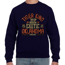 Load image into Gallery viewer, Joe Exotic The Tiger King Oklahoma Sweater Jumper Sweatshirt Mens Ladies Kids Unisex 6446