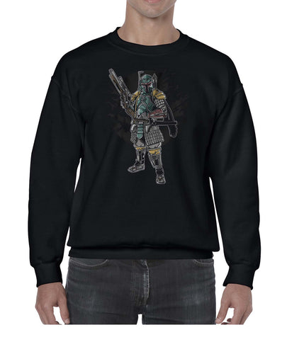 Samurai Trooper Cool Graphic Illustration Sweater Jumper Sweatshirt Mens Ladies Kids Unisex 3317