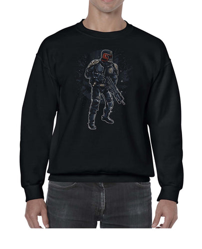 Comic Book Inspired Judge Dredd Graphic Sweater Jumper Sweatshirt Mens Ladies Kids Unisex 3305