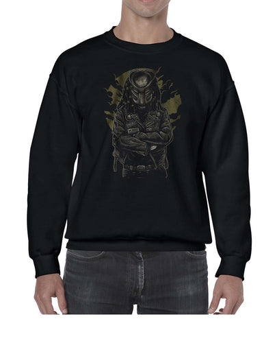 Predator Movie Inspired Cool Graphic Biker Sweater Jumper Sweatshirt Mens Ladies Kids Unisex 3312