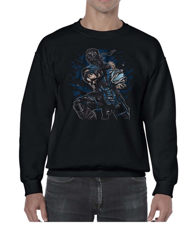 Ice Ninja Game Inspired Fan Art Gamer Sweater Jumper Sweatshirt Mens Ladies Kids Unisex 3324