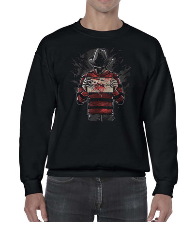 Freddy's Final Nightmare Movie Inspired Fan Art Graphic Sweater Jumper Sweatshirt Mens Ladies Kids Unisex 3303