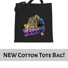 Load image into Gallery viewer, The Tiger King Joe Exotic Carole Baskin Tote Bag Cotton Shopper 38x42cm 6433