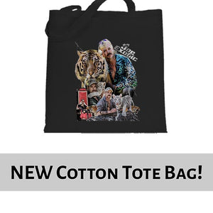 Joe Exotic The Tiger King Fan Art Tote Bag Cotton Shopper 38x42cm 6443